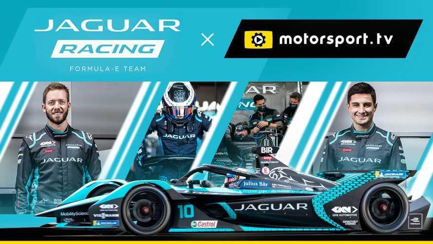Jaguar lleva a los fans al interior de la Fórmula E con un canal exclusivo en Motorsport.tv