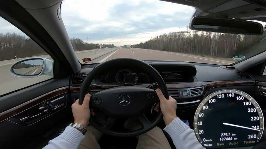 16 yıllık dizel Mercedes S-Serisi'nin performansı sizleri şaşırtacak