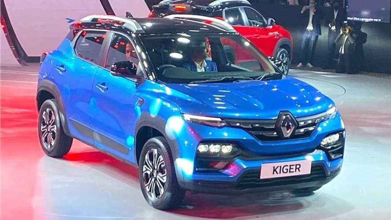 Renault Kiger 2021 - Fotos ao vivo