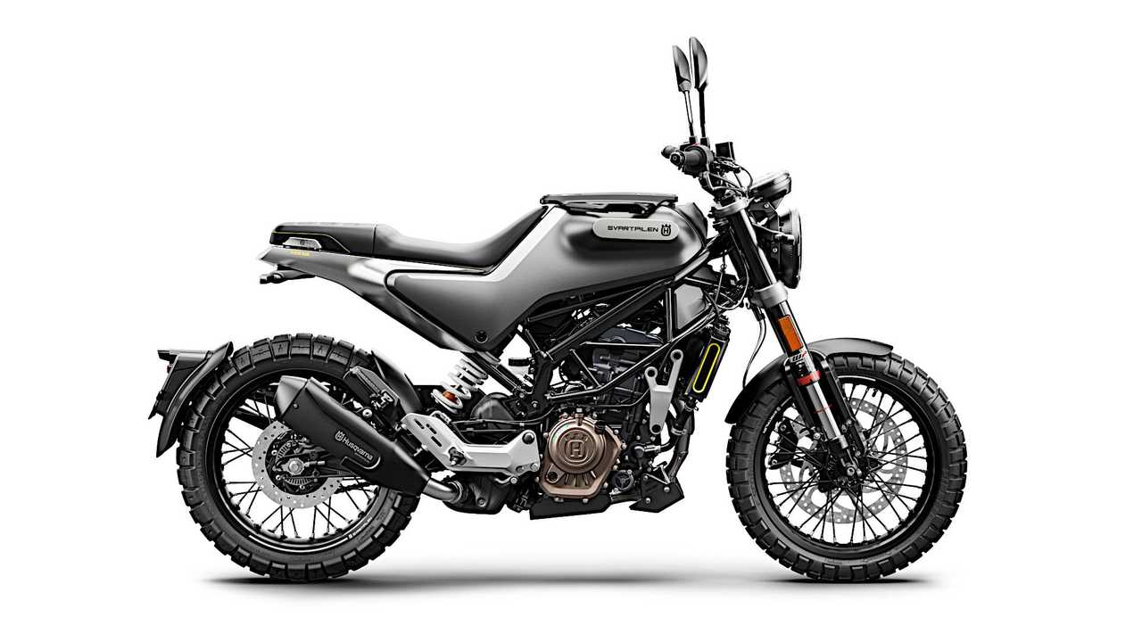 2021 Husqvarna Svartpilen 125 - Right Side