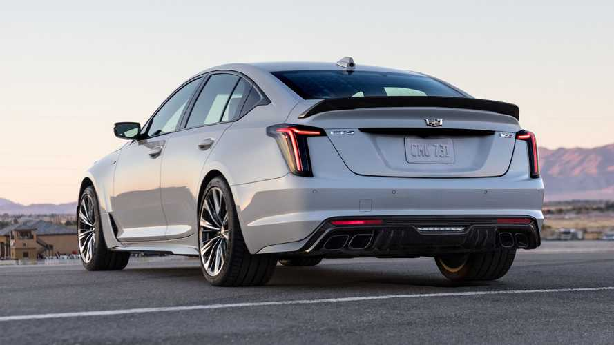 Here's Why The Hotter Cadillac CT4-V And CT5-V Are Called Blackwing
