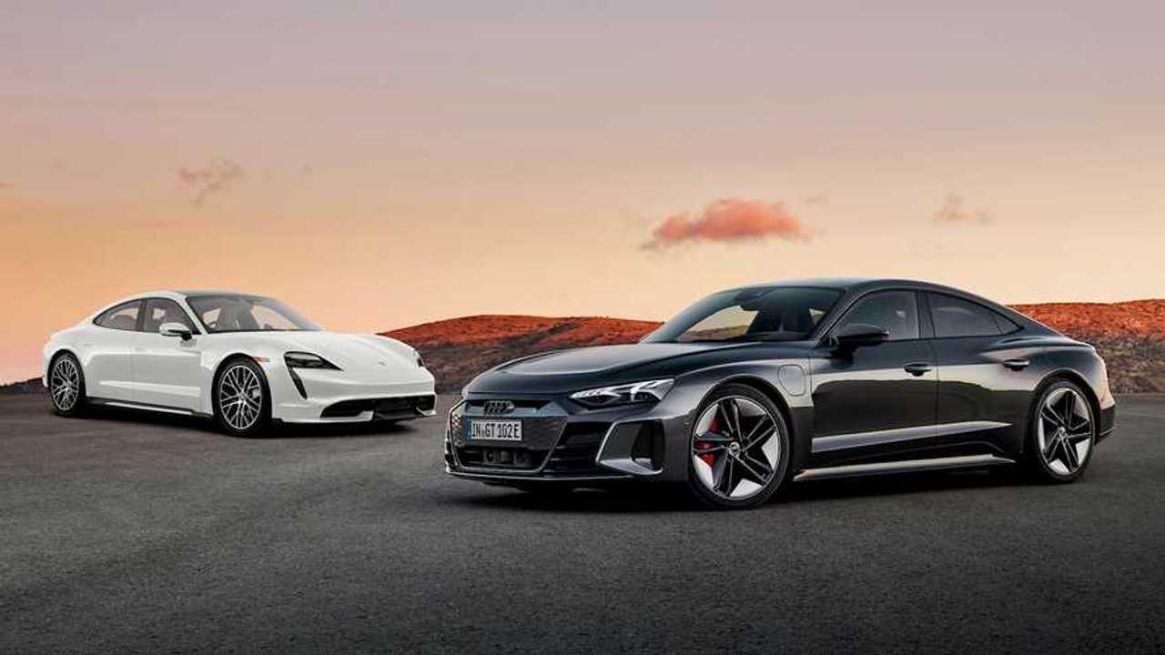 Audi E-Tron Vs Porsche Taycan