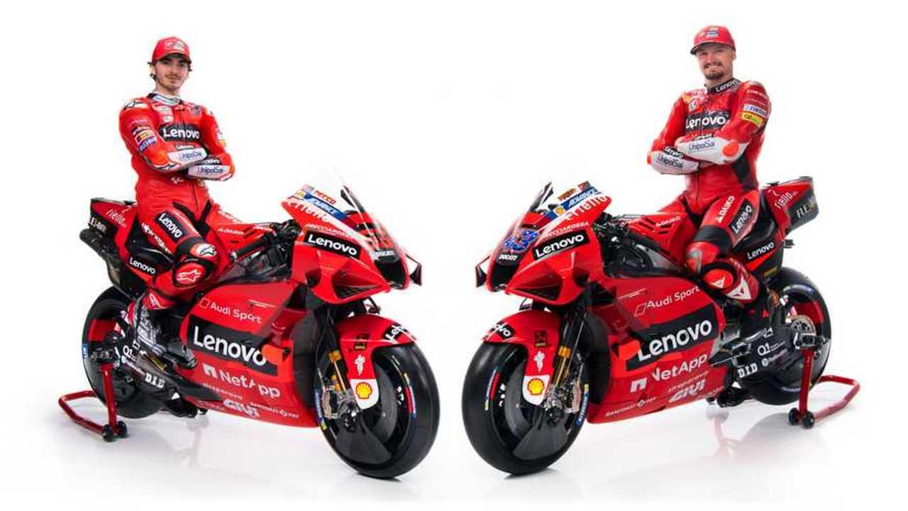 2021 Ducati Corse Team - Jack Miller and Pecco Bagnaia - Alternate