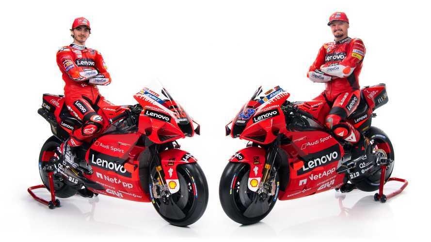 2021 Ducati Desmosedici GP And MotoGP Team Introduced