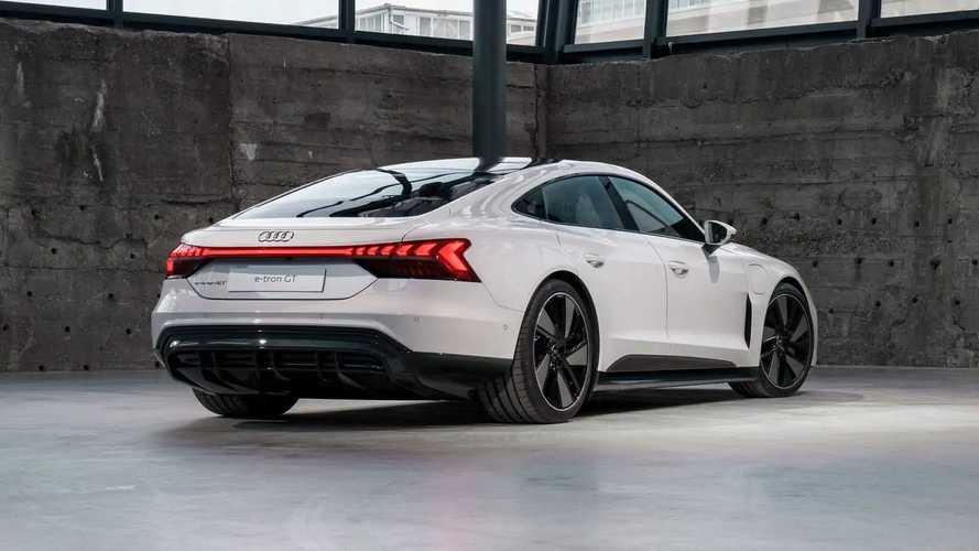 Audi выводит e–tron GT на рынок США