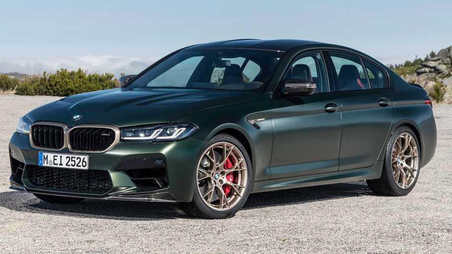 Vídeo: un BMW M5 CS a más de 300 km/h por las carreteras alemanas