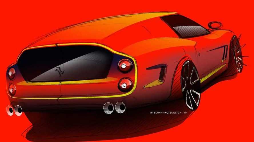 Ferrari Breadvan Hommage by Niels van Roij Design