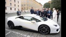 Ein Lamborghini für Papst Franziskus