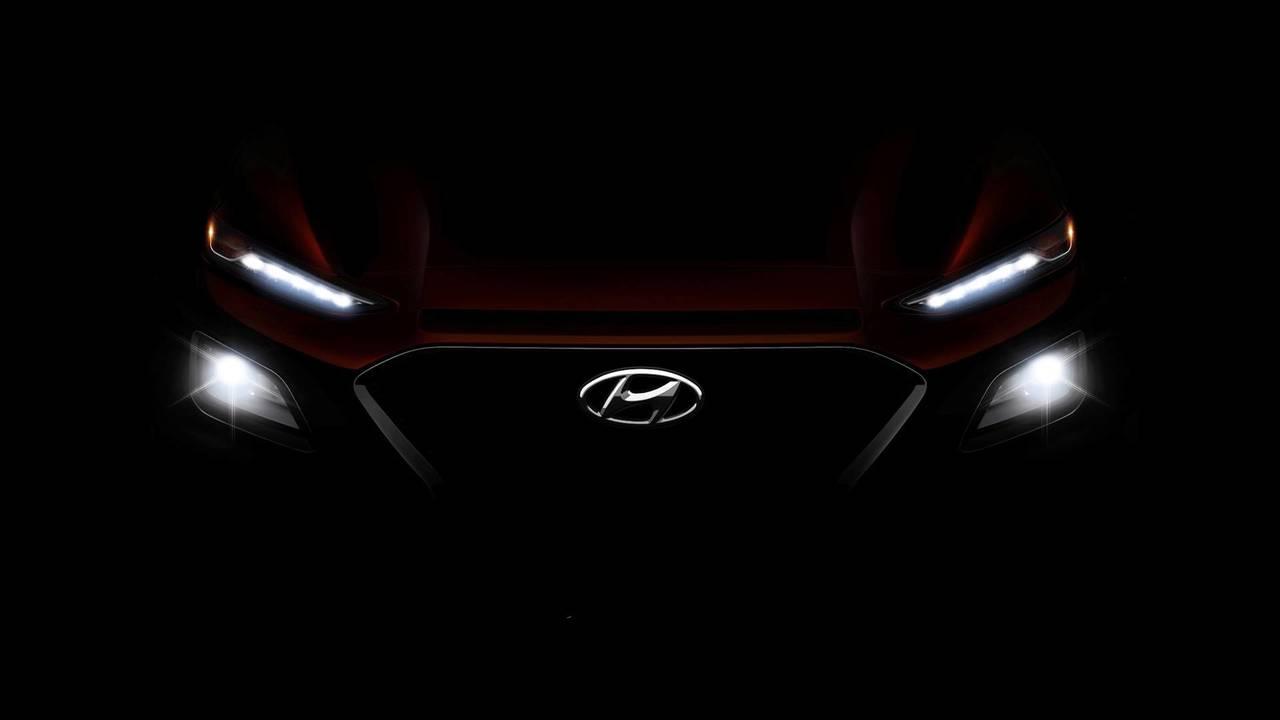 U.S.-spec Hyundai Kona teaser pic