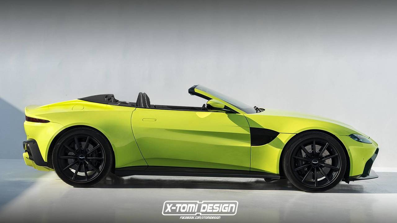 Aston Martin Vantage Volante 2018 render
