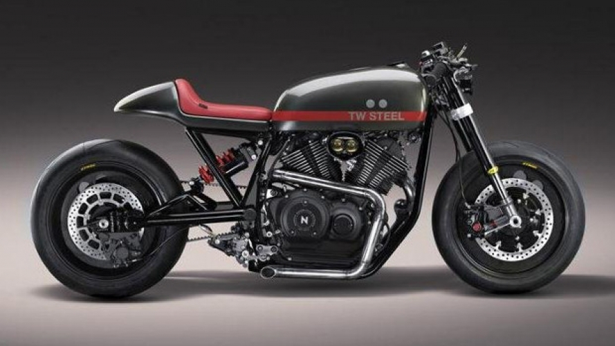 Yamaha XV950 TW Steel by Numbnut Motorcycles