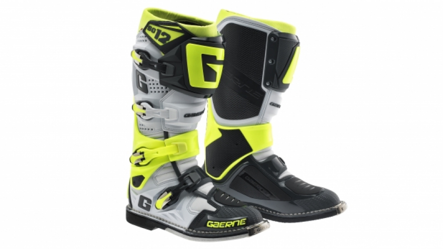 Gaerne SG.12 Grey-Yellow Fluo Limited Edition