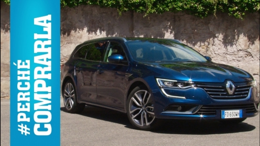 Renault Talisman Sporter, perché comprarla… e perché no [VIDEO]