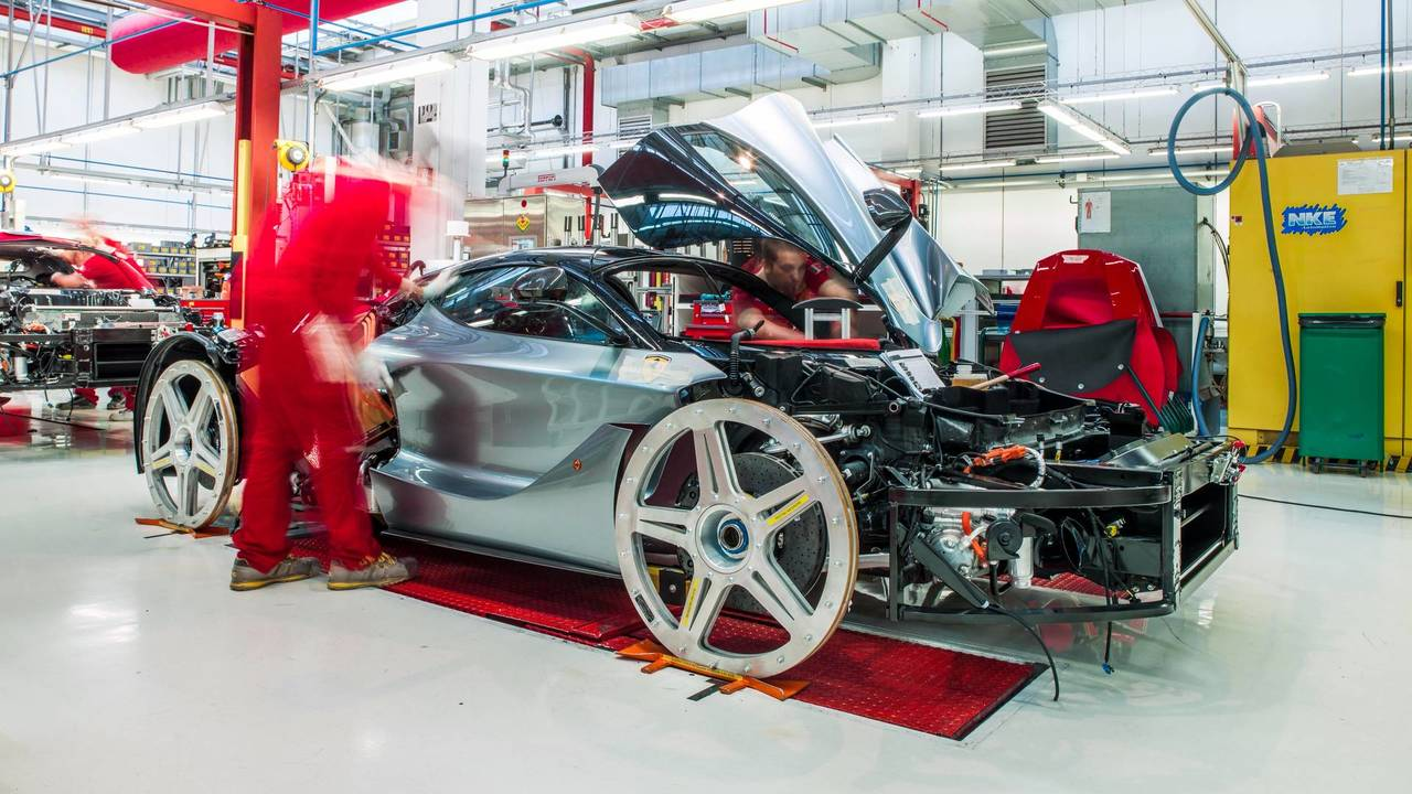 Production Ferrari