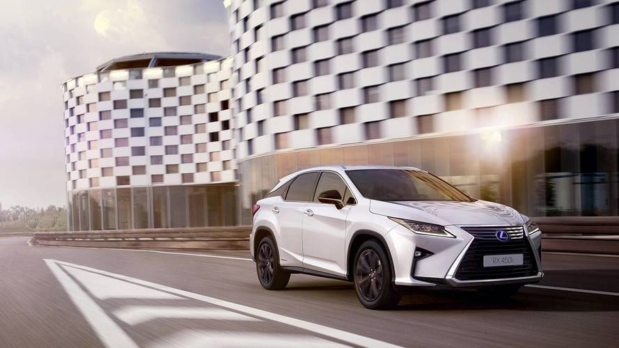 Lexus adds new Sport trim to RX range