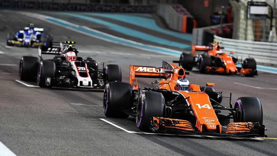 La Fórmula 1 registró este año la mitad de adelantamientos que en 2016