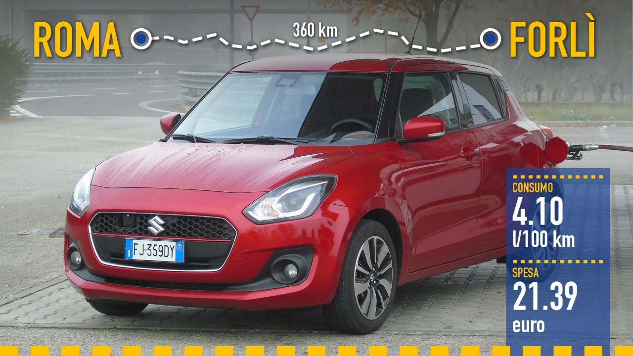[Copertina] - Suzuki Swift Hybrid, la prova dei consumi reali