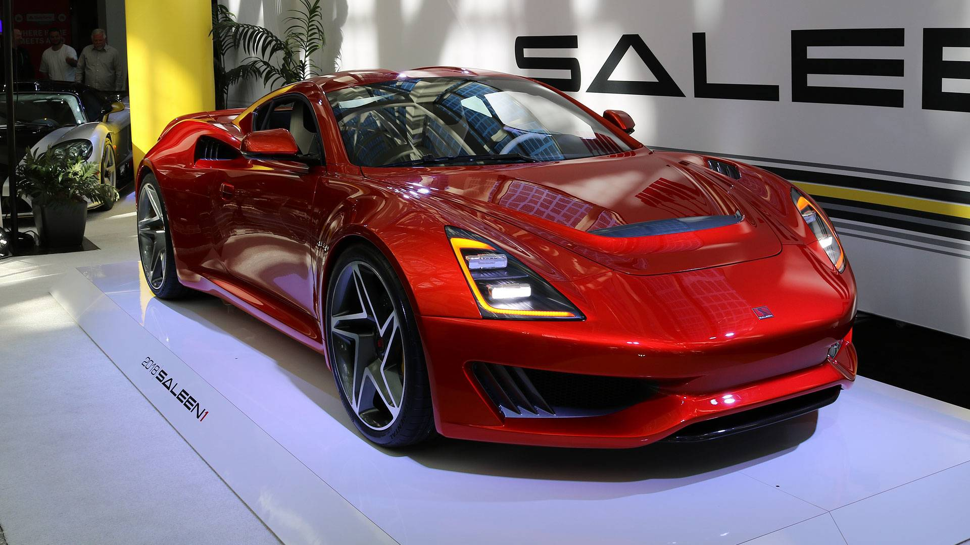 Saleen S1 2018, un deportivo 'made in USA'