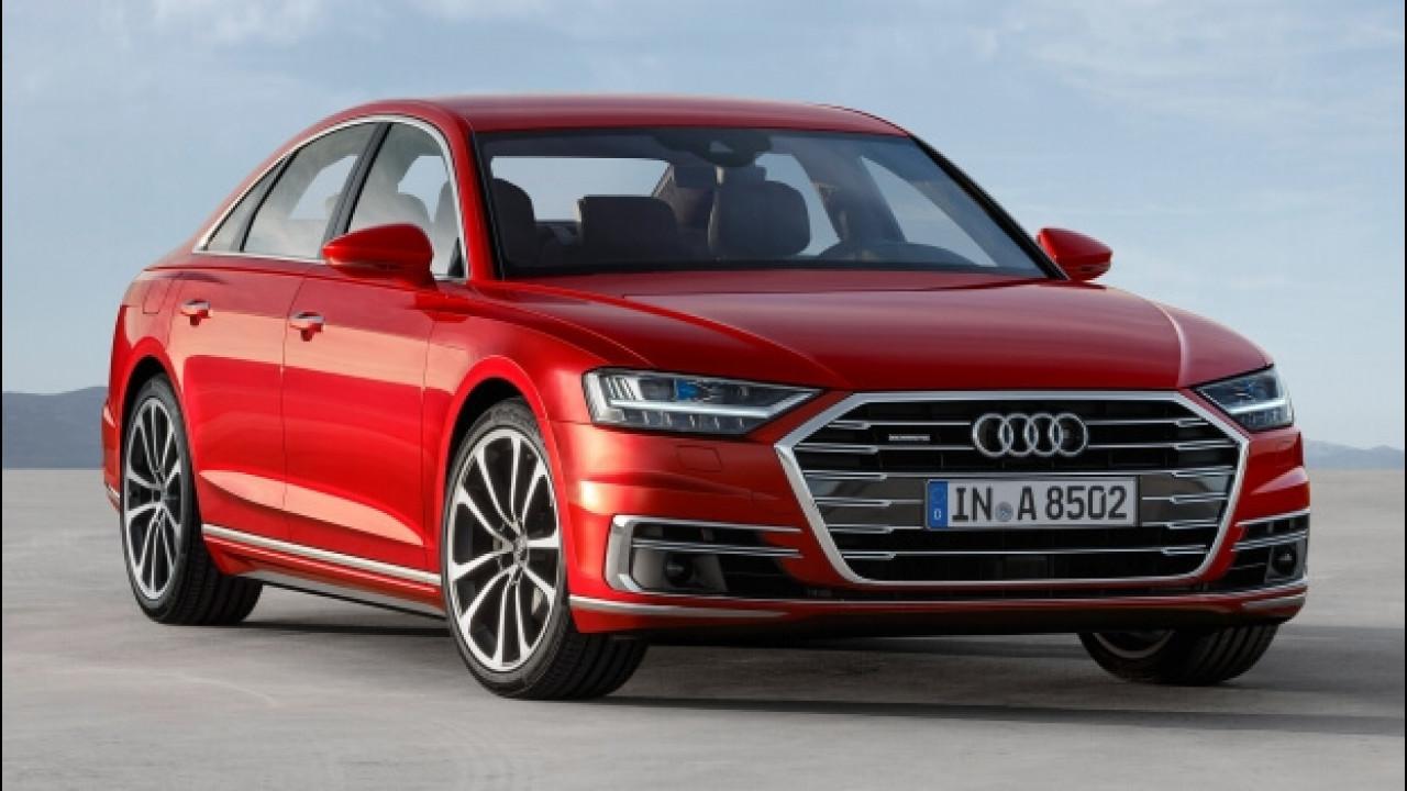 [Copertina] - Nuova Audi A8, la prima che guida da sola [VIDEO]