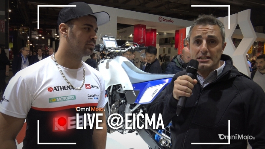Yamaha T7 concept a EICMA 2016 [VIDEO]