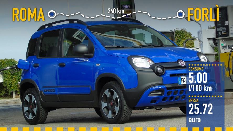 Fiat Panda 1.2 City Cross, la prova dei consumi reali
