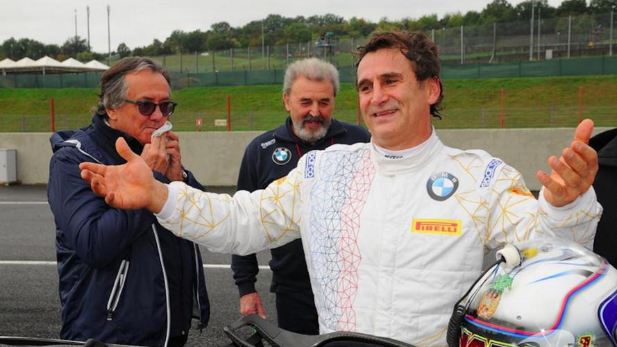Zanardi con BMW alla 24 Ore di Daytona 2019 (forse)