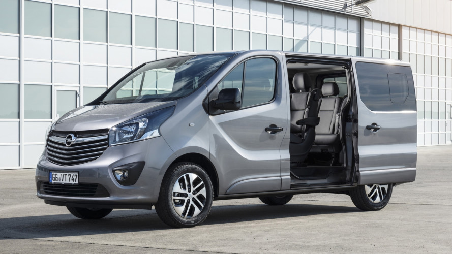 Opel Vivaro Tourer, people mover in stile tedesco