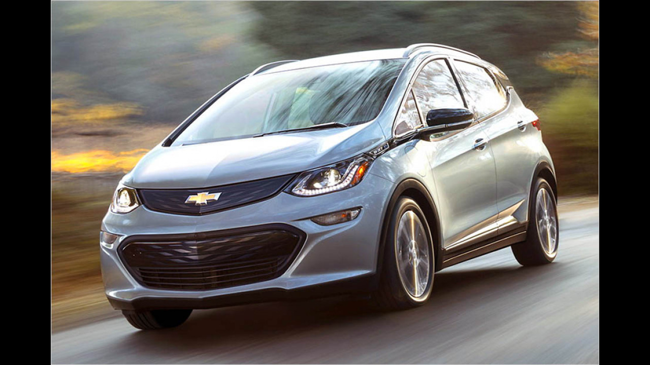 2017: Chevrolet Bolt EV