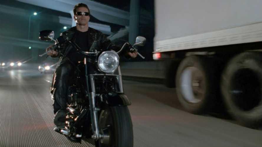 La Harley-Davidson di Terminator 2 va all'asta