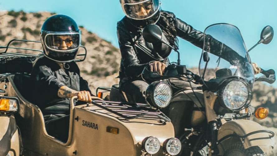 International Ural Ride Day, la festa dei sidecar russi