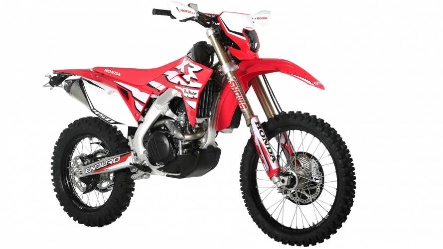 Honda CRF 450 XR: off-road senza limiti