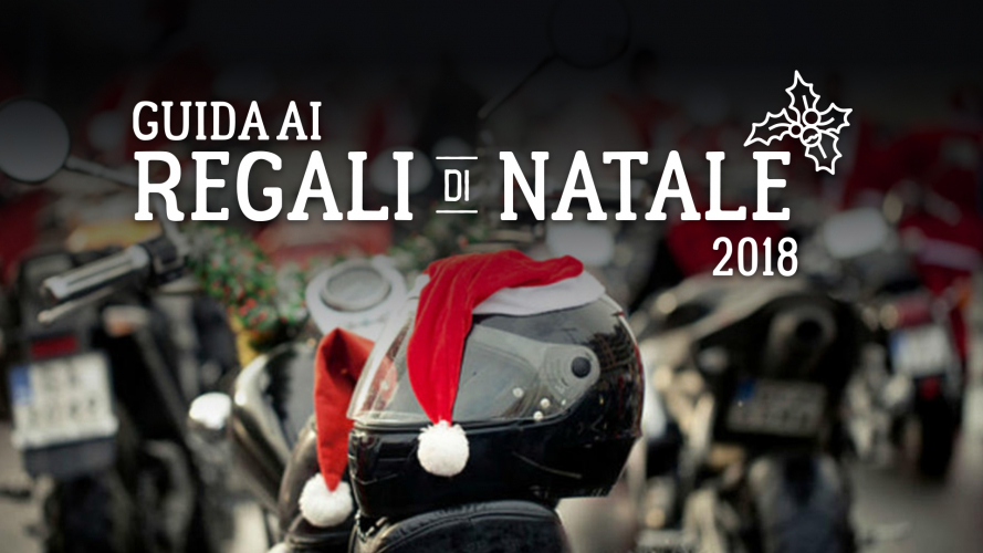 Natale: 5 regali cool per chi va in moto