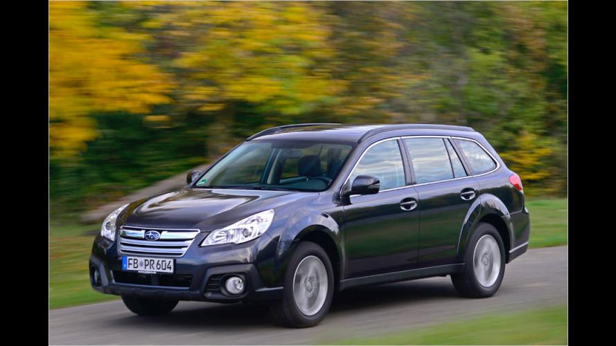 Subaru Outback (2013): Bye-bye, Sechszylinder