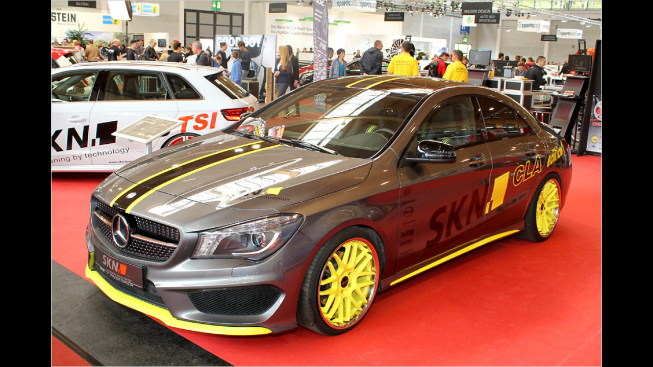 SKN Mercedes CLA Edition 1