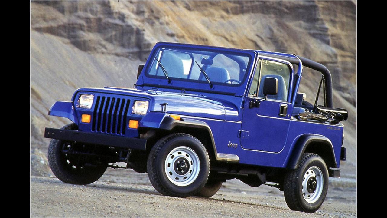 Jeep Wrangler (YJ): 1987-1996