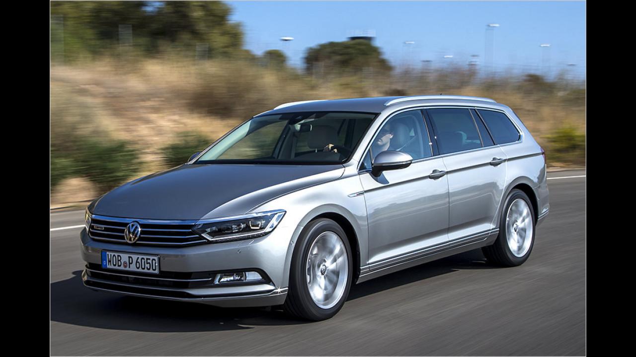 VW Passat Variant 2.0 TSI 4Motion DSG