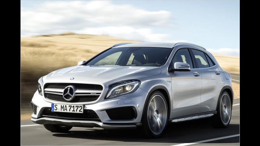 Klassen-Stärkster: Mercedes bringt den GLA 45 AMG