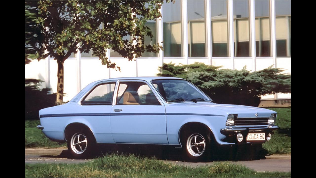 40 Jahre Opel Kadett C