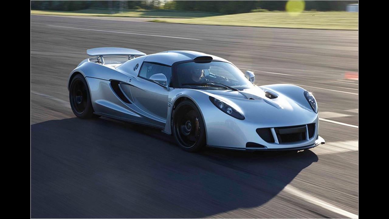 418 km/h: Hennessey Venom GT
