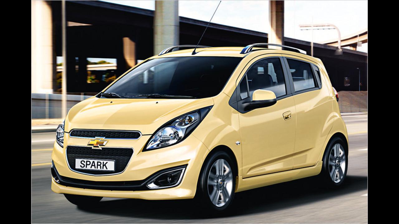Flop 4 bei Frauen: Chevrolet Spark (61,5 Punkte)