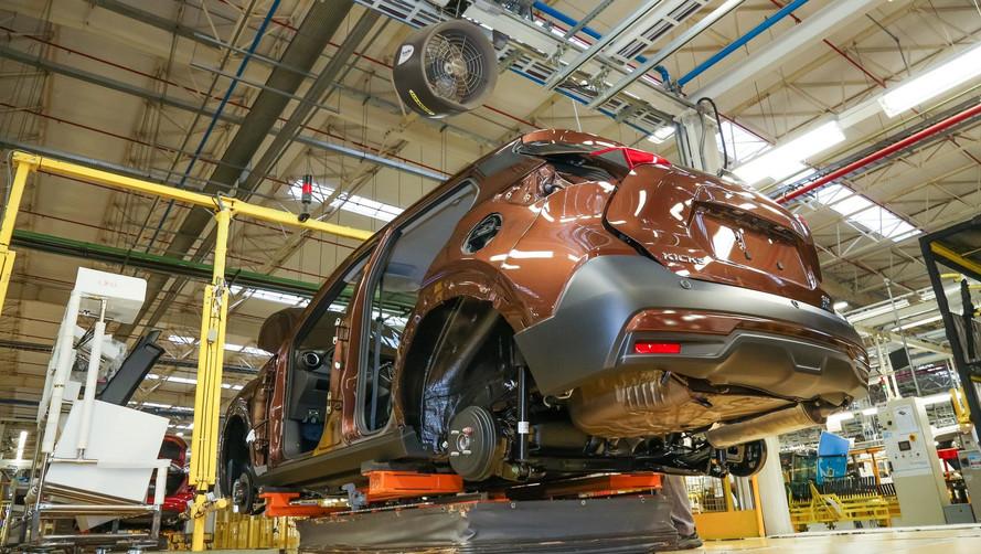 Nissan anuncia datas para retomada da produção no Brasil e Argentina