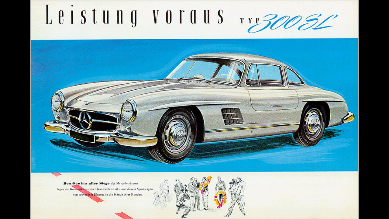1954: Mercedes 300 SL