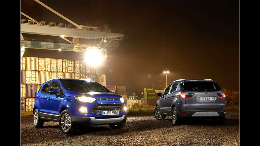 Überarbeiteter Ford EcoSport im Test
