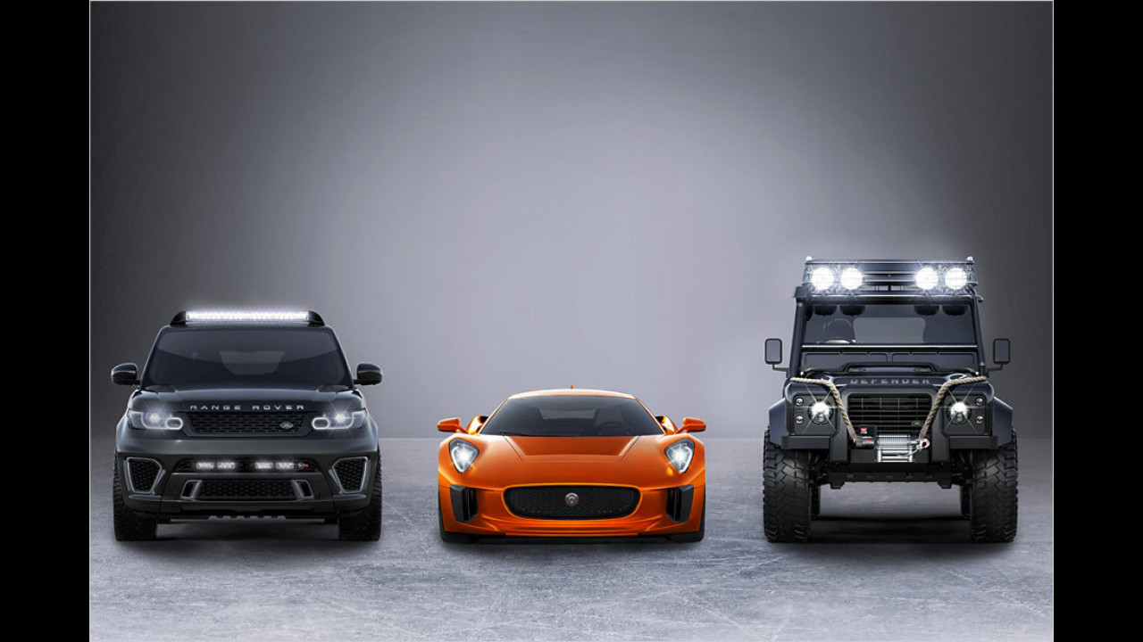 Jaguar und Land Rover in ,Spectre