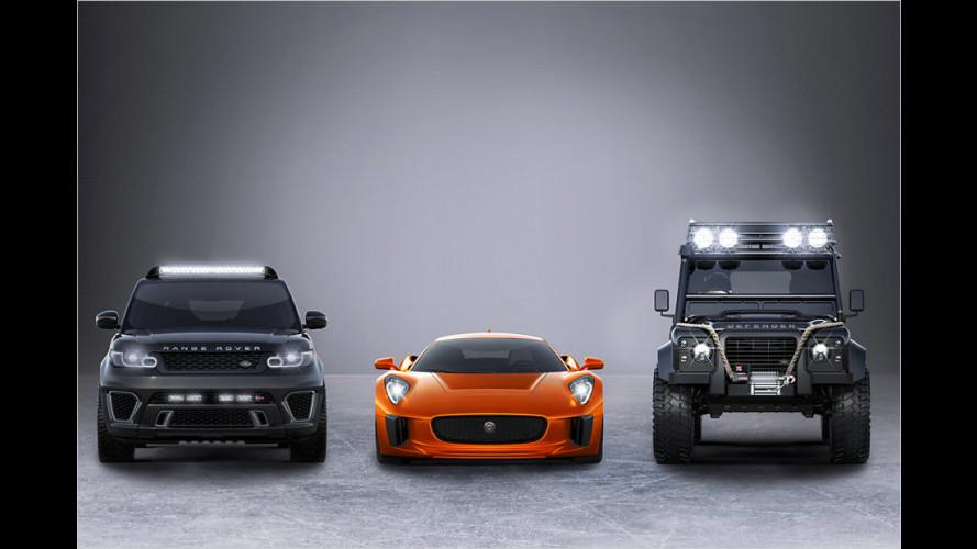 """Jaguar und Land Rover in """"Spectre"""""""