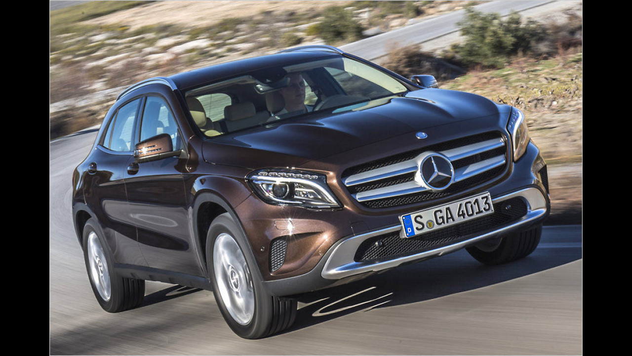 Flop: Mercedes GLA