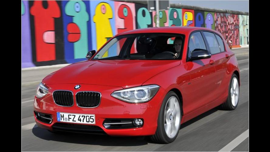 Zweimal eins bleibt eins: Neuer BMW 1er im Test