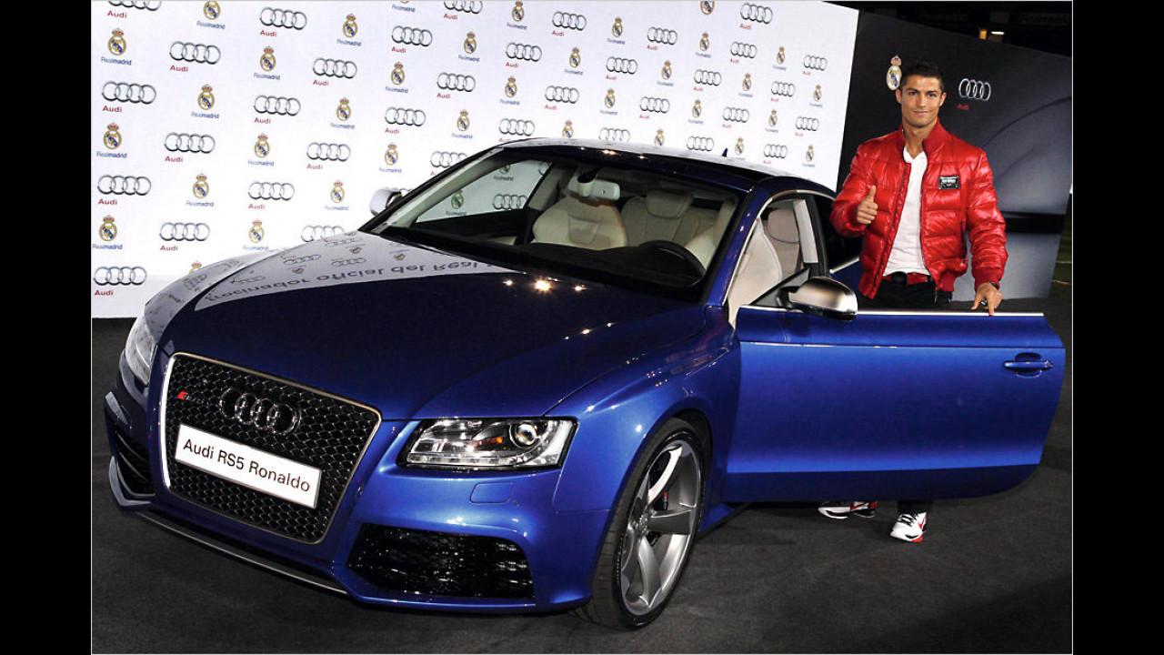 Cristiano Ronaldo: Audi RS5