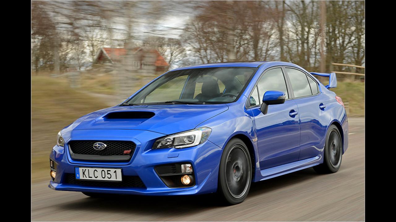 Subaru: Zweiliter-Vierzylinder-Turboboxer (Subaru WRX)