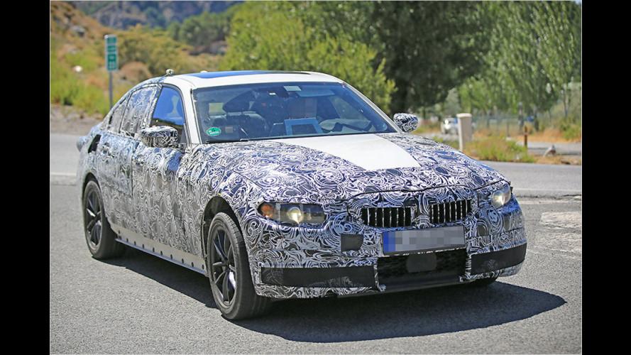 Erwischt: BMW 3er-Reihe für 2018